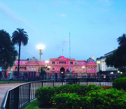Casa rosada-the presidential palace