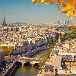 Paris-Aerial-view-of-paris